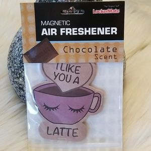 Chocolate scent Magnetic air freshener